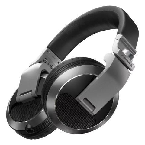 Fone de Ouvido Headphone Profissional Dj Preto Pioneer Hdj-x7-s