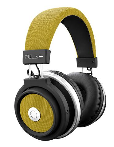 Imagem de Fone de Ouvido Pulse Headphone Large Bluetooth Amarelo - PH233