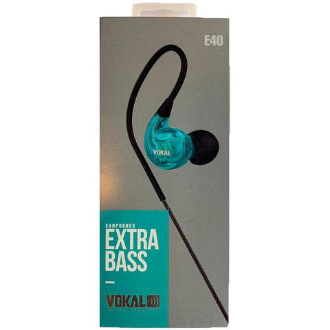 Imagem de Fone de Ouvido Retorno Vokal E40 Azul Monitor In Ear