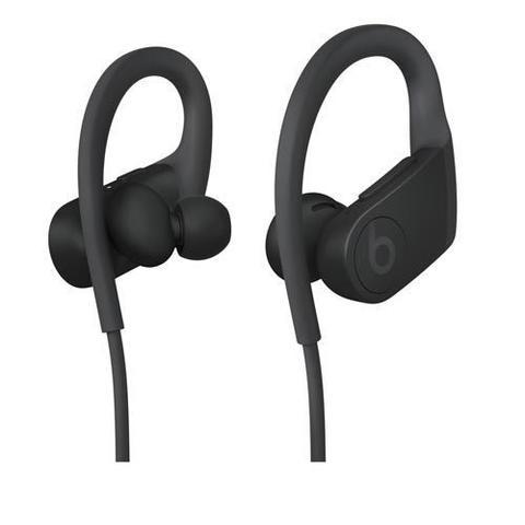 Imagem de Fone de Ouvido sem Fio Beats Powerbeats In-Ear de alto desempenho Preto  - MWNV2BE/A
