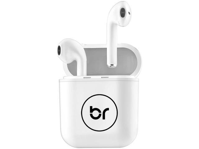 Imagem de Fone de Ouvido Sem Fio Bluetooth Bright Beatsound - Intra-auricular  Branco