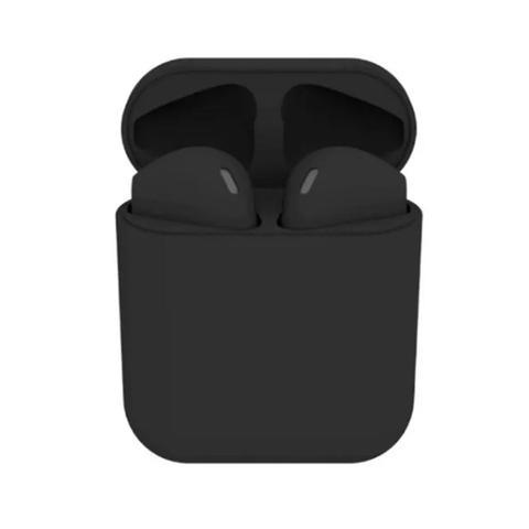 Imagem de Fone de Ouvido Sem Fio Bluetooth i12 Macaron Preto