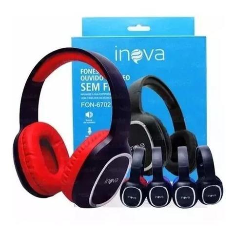 Fone de Ouvido Bluetooth Stereo Inova Fon-6702