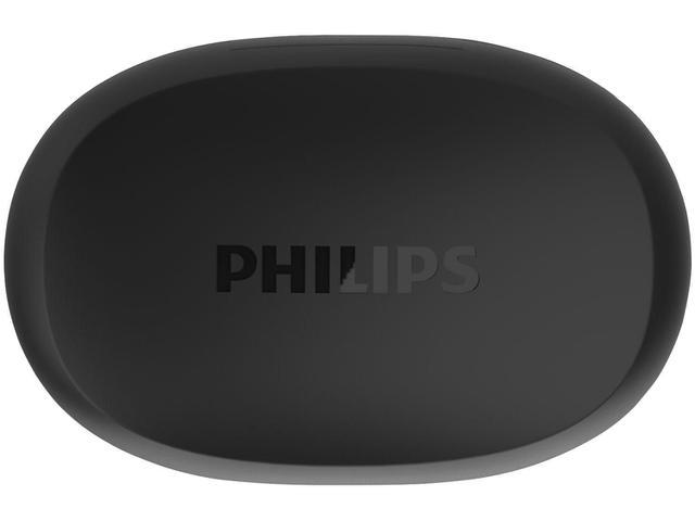 Imagem de Fone de Ouvido Sem Fio Bluetooth Philips TAT1215BK/97 com microfone Resistência IPX4 bateria para até 18 Horas - Preto