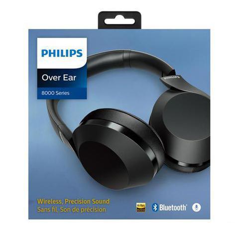 Imagem de Fone de Ouvido sem Fio Philips Performance Headphone Preto - TAPH802BK/00