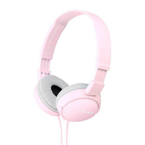 Fone de Ouvido Headphone Dobrável Rosa Sony Mdrzx110pk