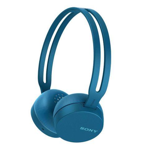 Imagem de Fone de Ouvido Sony WH-CH400 Azul Bluetooth NFC Wireless com Microfone