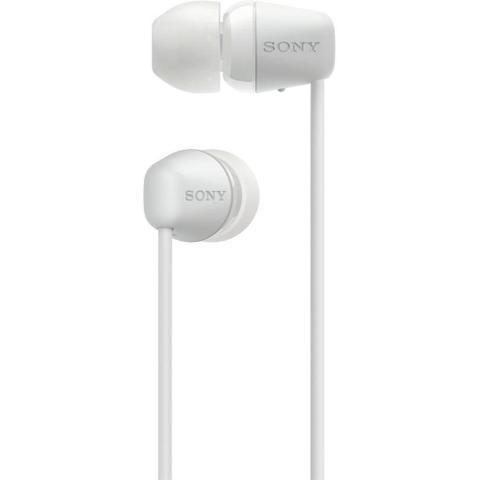 Imagem de Fone de Ouvido Sony Wi C200 Bluetooth Intra Auricular - Branco