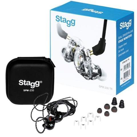 Fone de Ouvido Ear 2 Driver Stagg Smp-235