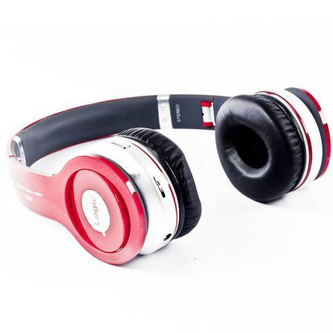 Fone de Ouvido Headphone Stereo Vermelho Logic Ls221rd