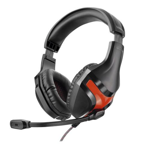 Imagem de Fone de Ouvido Warrior PH101 com Microfone Headset Gamer Super BASS P2PRETO