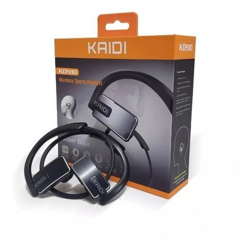 Fone de Ouvido Wireless Sport Bluetooth Kaidi Kd910