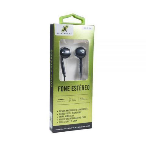 Imagem de Fone de Ouvido XC-F-06 Samsung Motorola Extra Bass com Microfone para Celular 11031 - Fn