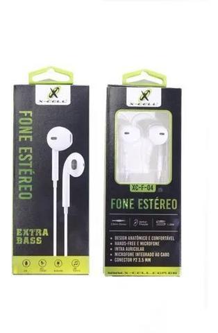 Fone de Ouvido Branco X-cell Xc-f-04