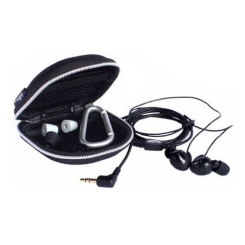 Fone de Ouvido Intra-auricular Fidelidade Acústica Preto Yoga Cd3
