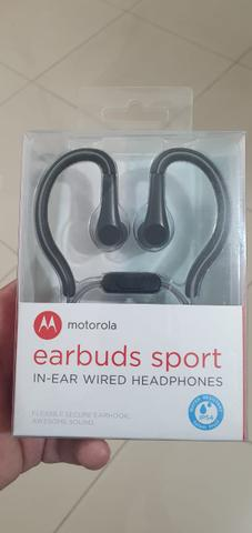 Imagem de Fone Earbuds Sport compatível com  Samsung A01 Core