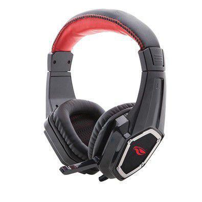 Fone de Ouvido Headset Gamer Grow Preto C3 Tech Phg100bk