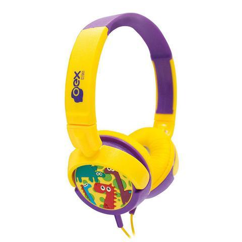 Fone de Ouvido Headphone Dino Oex Hp300