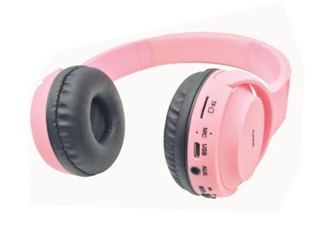 Imagem de Fone Headset Bluetooth Pop Rosa Oex Hs315