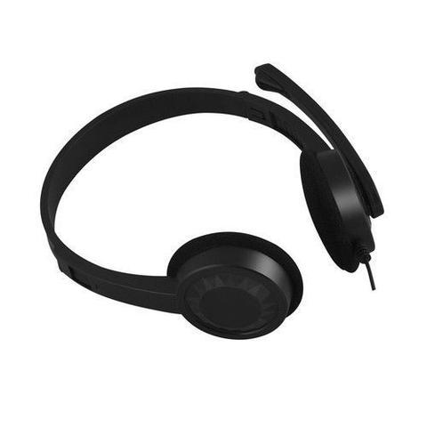 Imagem de Fone Headset Com Microfone PH-02BK Preto - C3Tech