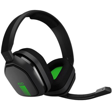 Imagem de Fone headset gamer a10 xbox one cz/verde 939-001837  astro