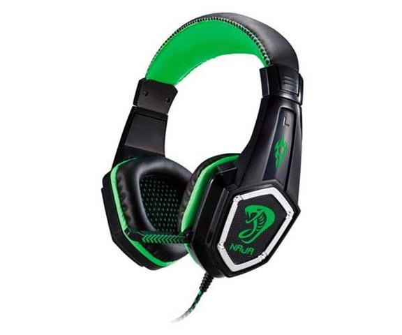Fone de Ouvido Headset Gamer Aries Naja Verde Braview Hs-aaa