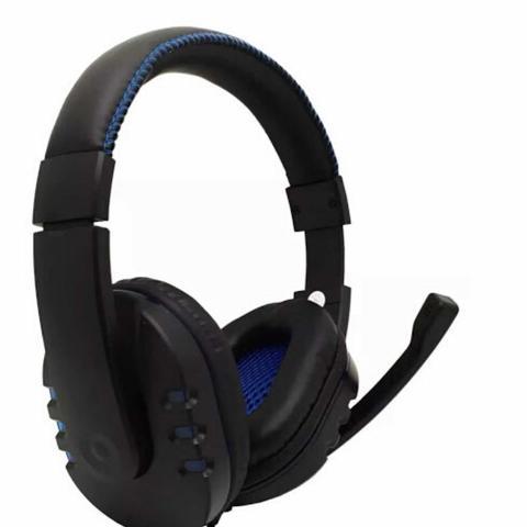 Fone de Ouvido Headset Preto Inova Ino-8499