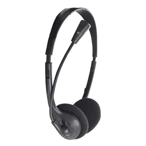 Imagem de Fone Headset Office haste regulável com microfone flexível Preto 010 Bright