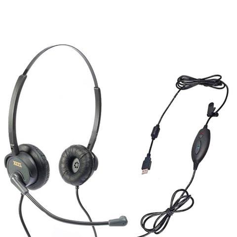 Fone de Ouvido Headset Usb Voip Skype Zox Dh-60