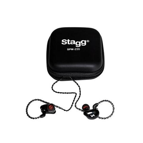 Imagem de Fone In Ear Retorno Stagg SPM235 Profissional Monitor Preto