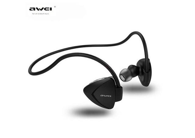 Fone de Ouvido Intra-auricular Bluetooth Branco Awei A840bl