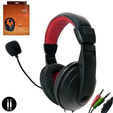 Fone de Ouvido Headset Com Controle Preto G-fire Eph222