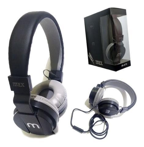 Fone de Ouvido Headphone Altomex Stereo Microfone Altomex A-872