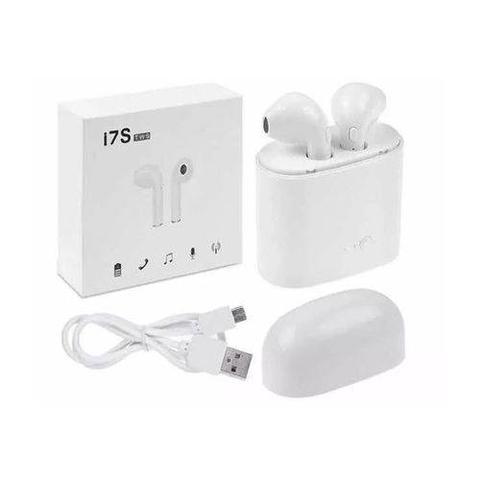 Imagem de Fone Ouvido Bluetooth I7s 4.2 Par Tws Sem Fio Case Base