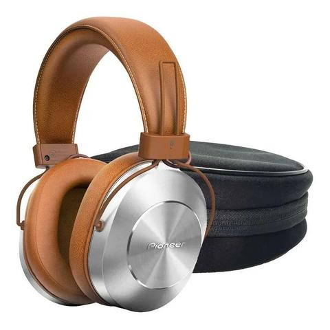Fone de Ouvido Headphone Com Bluetooth e Nfc Marrom Pioneer Se-ms7bt