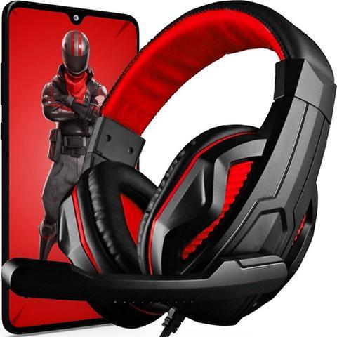Imagem de Fone Ouvido Gamer Headset Microfone Celular Pc Jogos Stereo