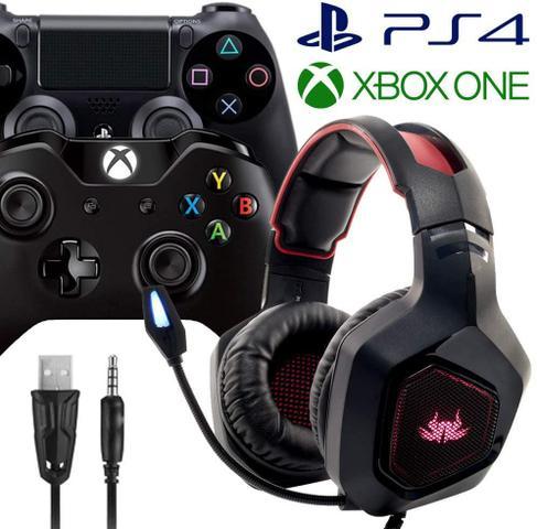 Imagem de Fone Ouvido Headset Gamer P3 Microfone Pc Note