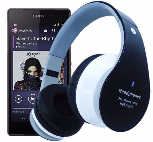 029b8785b Fone Ouvido Sem Fio Favix B01 Bluetooth Fm Sd Card Fx-b01 Hi-Wi Mega ...