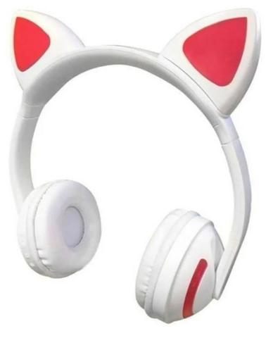 Imagem de Fone Ouvido Sem Fio Headphone Orelha Gato Bluetooth C240bt