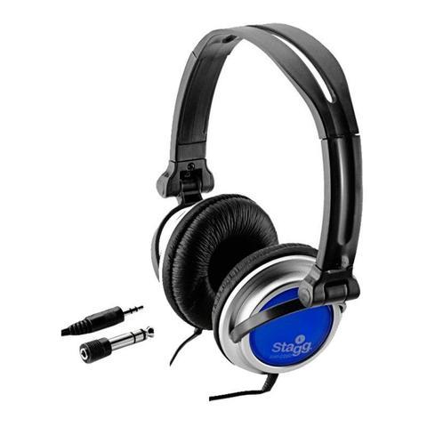 Fone de Ouvido Headphone Over-ear Shp Azul Stagg 2200h
