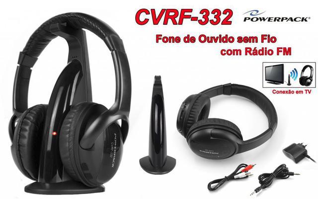Fone de Ouvido Sem Fio Powerpack Cvrf-332