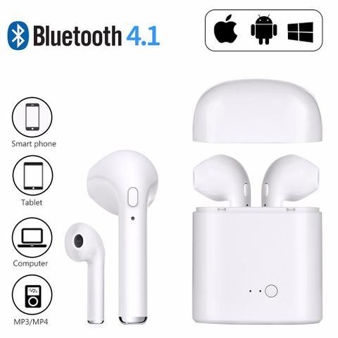 Imagem de Fones De Ouvido Sem Fio Bluetooth I7s Tws IPhone Android