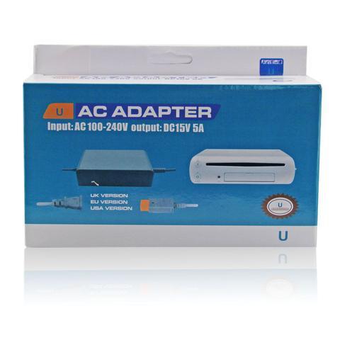 Imagem de Fonte 110v-240v Bivolt Nintendo Wii U - Ac Adaptador Cinza