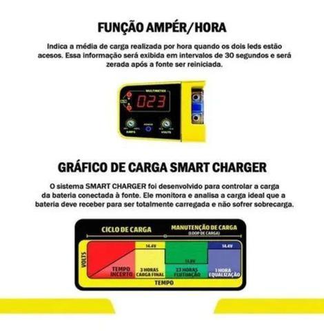 Imagem de Fonte Automotiva Carregadora Spark Usina 70a Display Smart Cooler Bi-Volt - Usina Spark