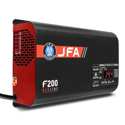 Imagem de Fonte Automotiva JFA F200 Redline 200A Amperes 3000W RMS Bivolt Display LED Voltímetro e Amperímetro
