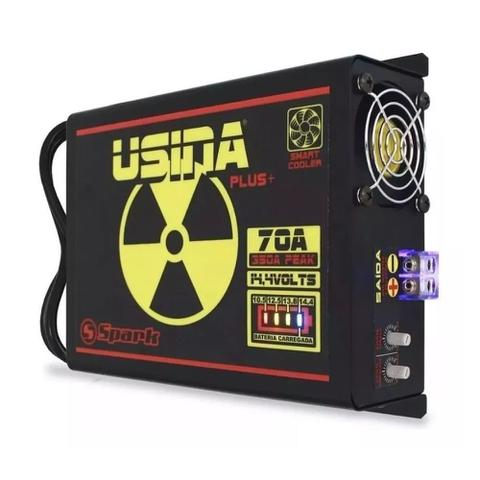 Imagem de Fonte Automotiva Usina 70a Battery Meter Carregador Bateria