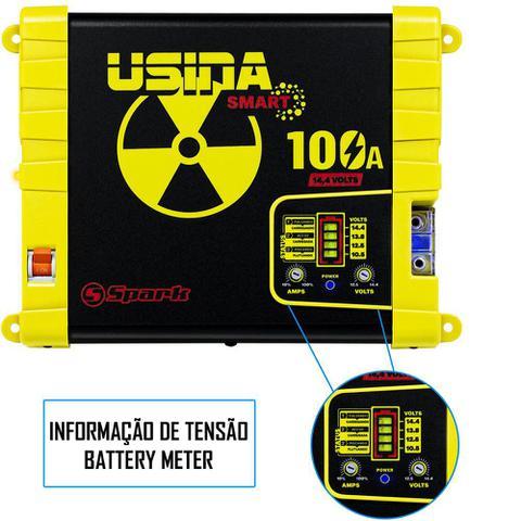 Imagem de Fonte Carregador Automotiva Usina 100A Battery Meter