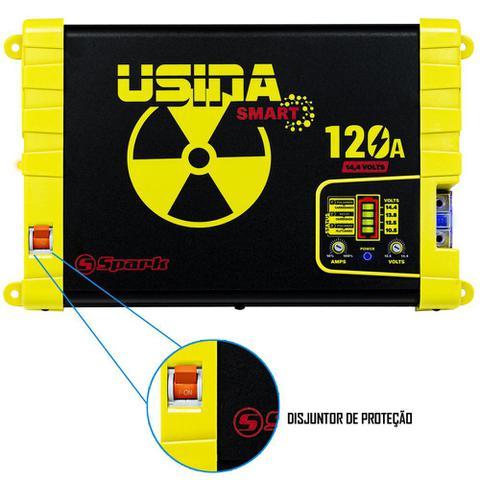 Imagem de Fonte Carregador Automotiva Usina 120A Plus Battery Meter