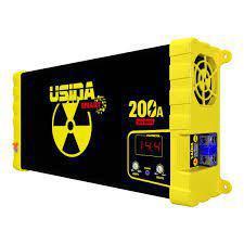 Imagem de Fonte Carregador Automotiva Usina 200a Plus Battery Meter