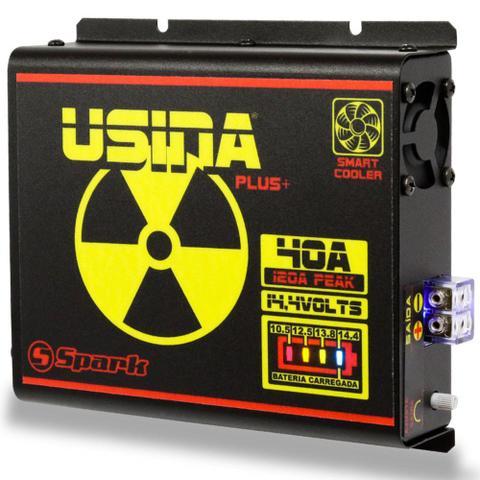 Imagem de Fonte Carregador Automotiva Usina 40A Plus Battery Meter